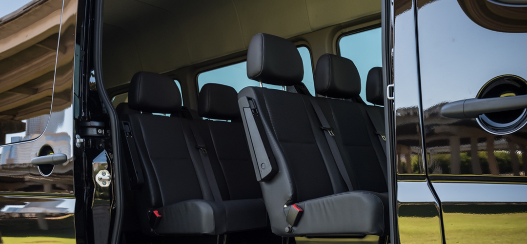 Luxury Mercedes Sprinter 13 Seat Rental Houston Sam S