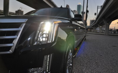 2016 Escalade Front Grill at Angle