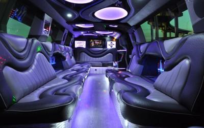 2016 Escalade Interior Facing Forward with lights