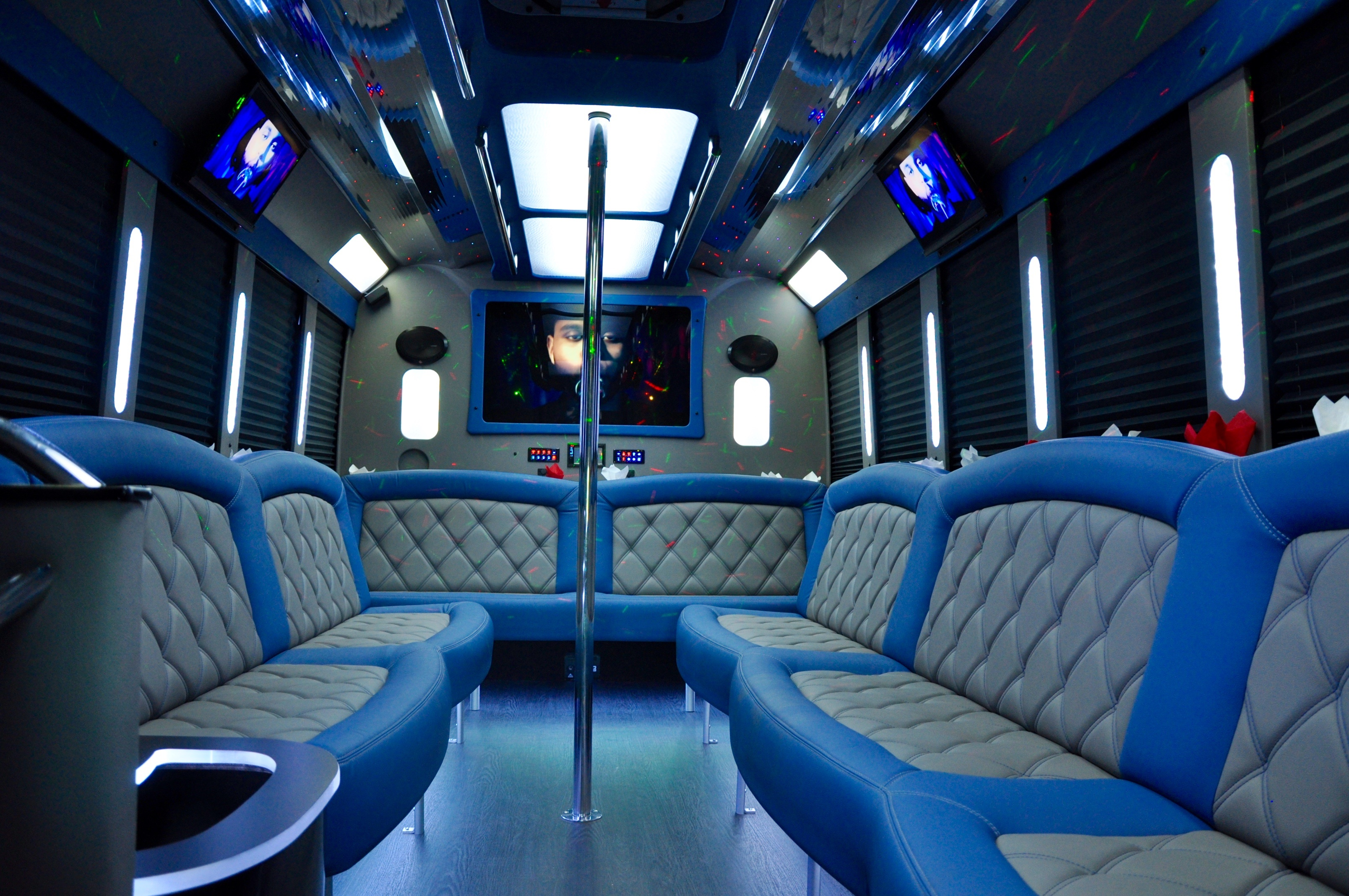 party buses  18 to 28  houston