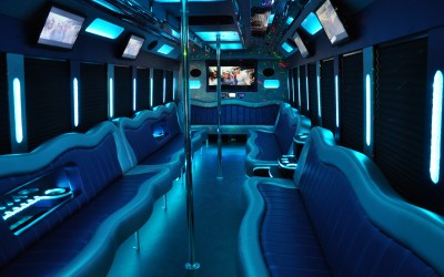 32LB Interior Blue Lights