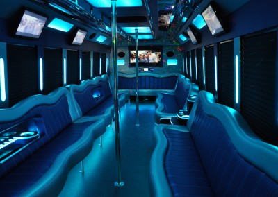 32LB Interior Blue Lights
