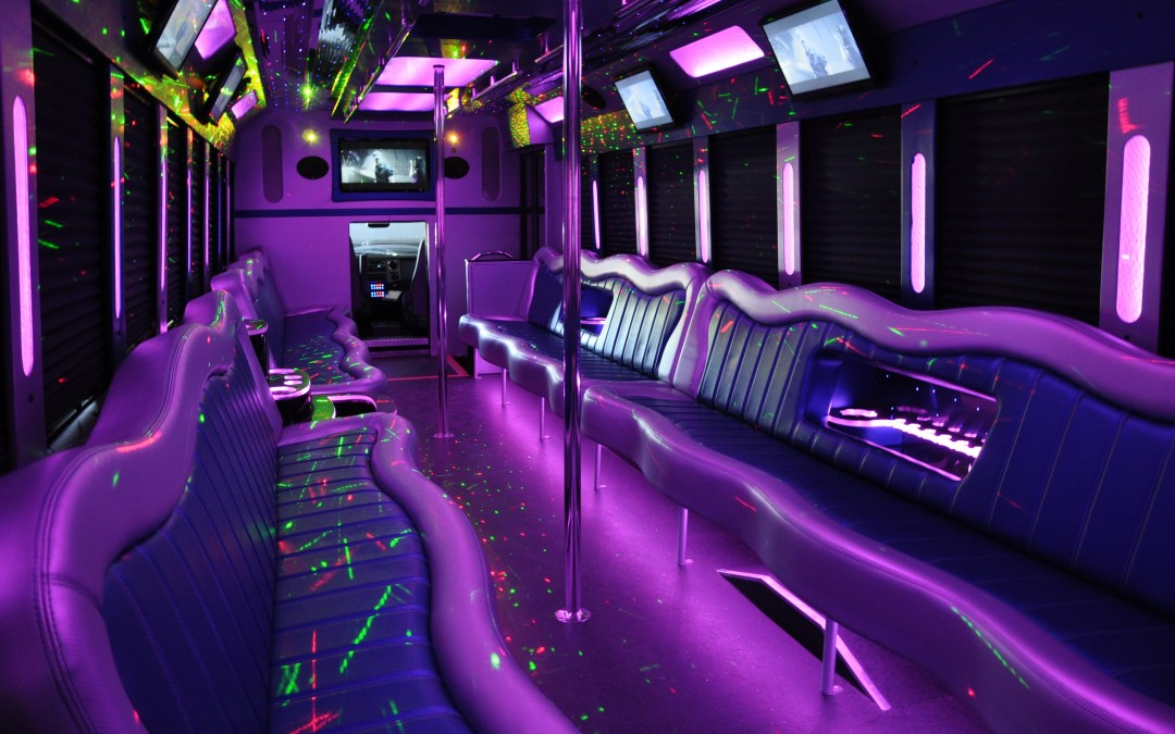 Party Bus Rental Advantages