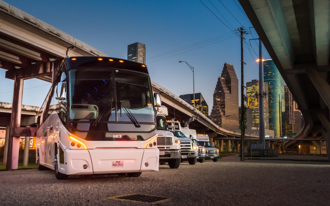 Rent a Charter Bus in Houston