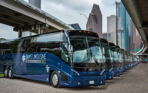 Chartering a Bus in Houston
