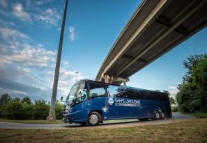 Charter Bus Sams Limousin