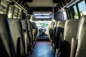 Executive Corporate Shuttle Bus Houston