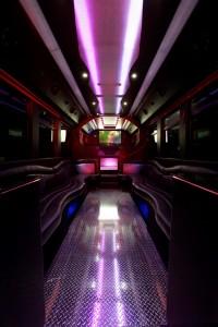 Interior Luxury LImo Party Bus