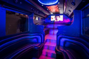Mega LImo Bus Party Houston Rental