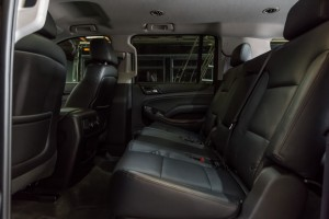 Luxury SUV interior Houston