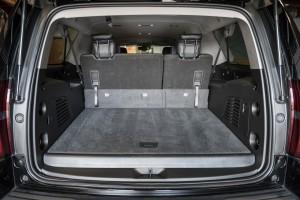 SUV Rental Interior