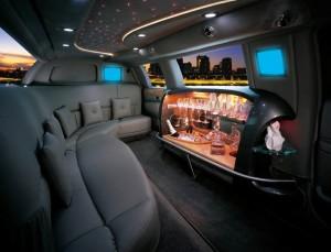 Stretch SUV Limousine Bar