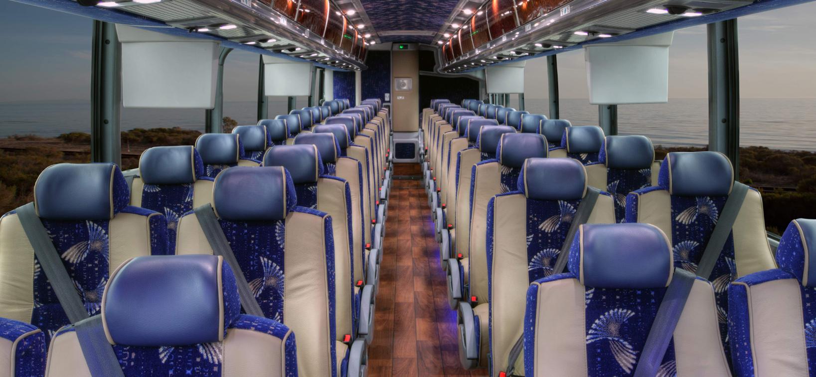 Charter Bus sams limousine