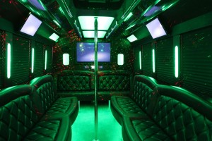 Luxury Limo Party Bus Rental