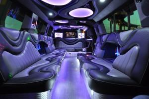 SUV Limousine Houston Interior