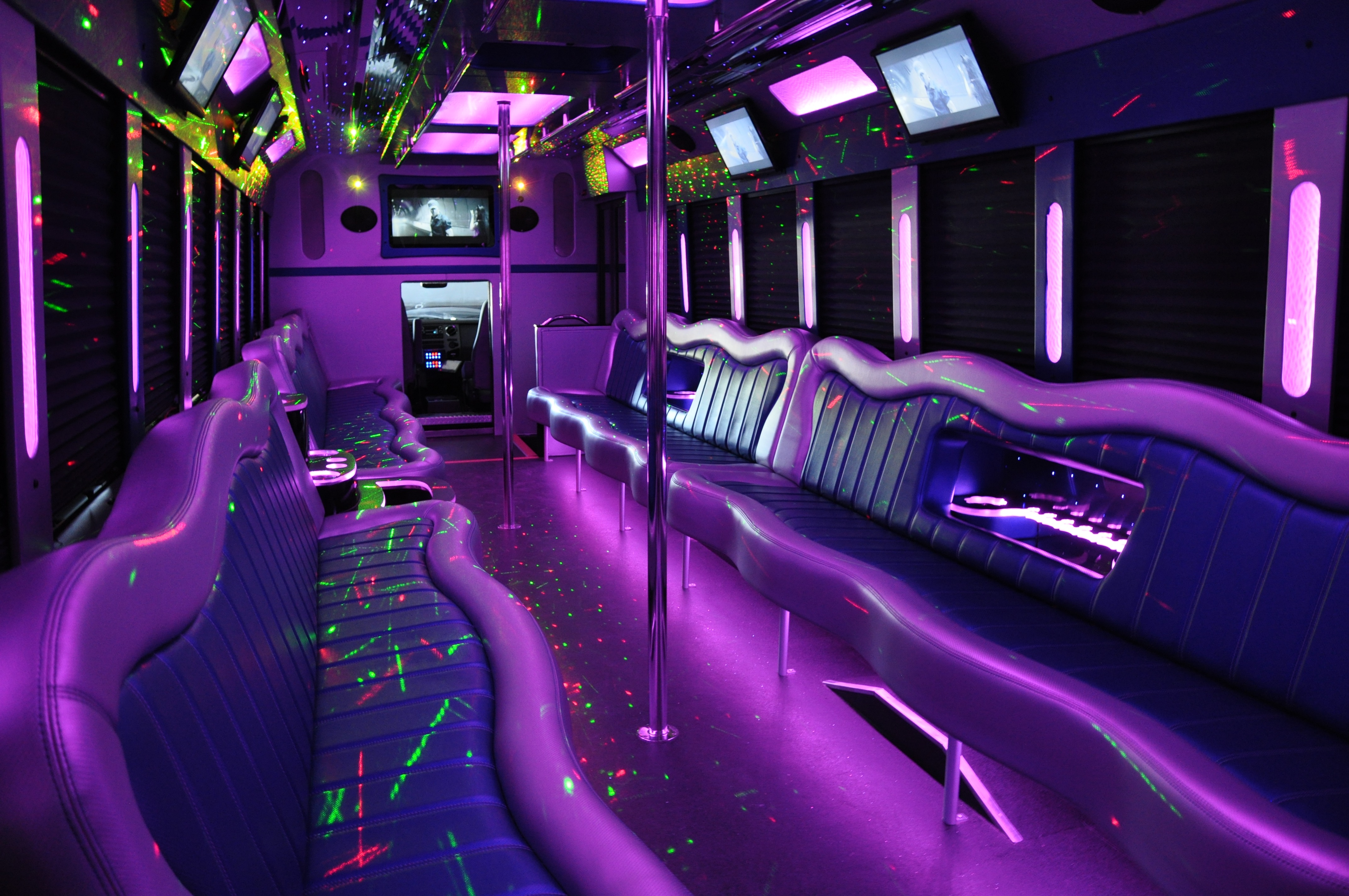 Party Bus Charter Bus Rental