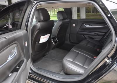 Cad Sedan Back Seat