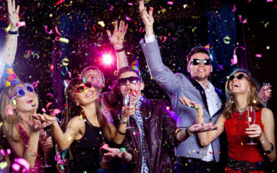 Charter Bus in Houston for Your Company New Years Eve Party