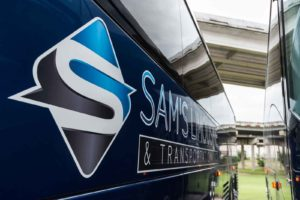 Sam's Limousine Charter Bus