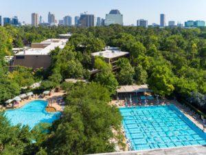 Houstonian Hotel Arial Shot